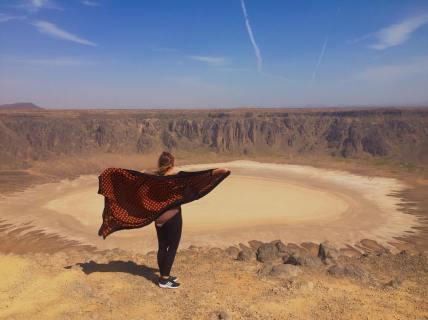Wahaba Crater, Saudi Arabia